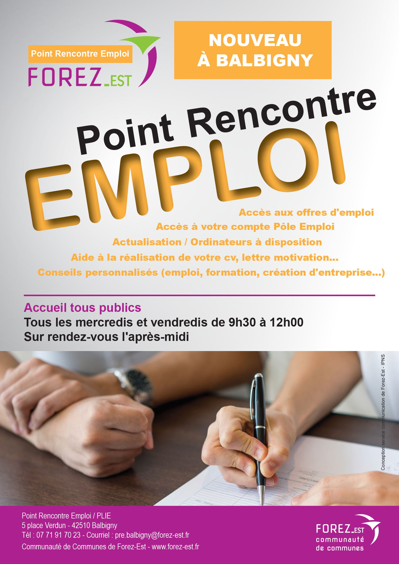 Point Rencontre Emploi